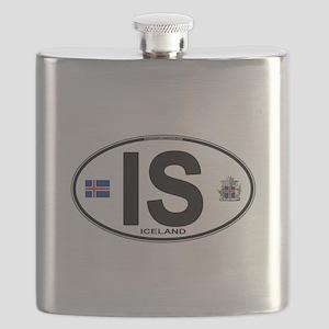 iceland-oval Flask