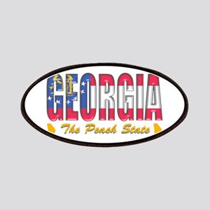 Georgia Drk P Patch
