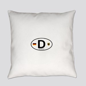Germany D Deutchland Everyday Pillow