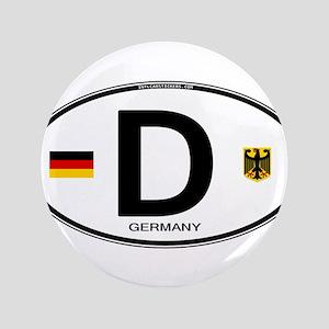 Germany D Deutchland Button
