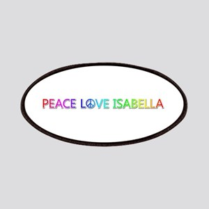 Peace Love Isabella Patch