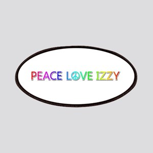 Peace Love Izzy Patch