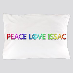 Peace Love Issac Pillow Case