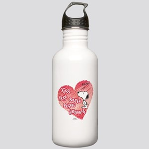 Snoopy - Kisses Stainless Water Bottle 1.0L