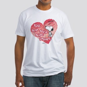 Snoopy - Kisses Fitted T-Shirt