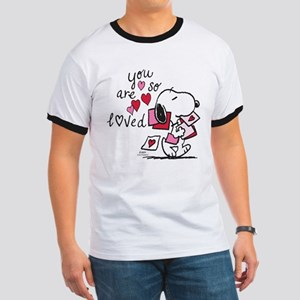 Snoopy - You Are So Loved Ringer T