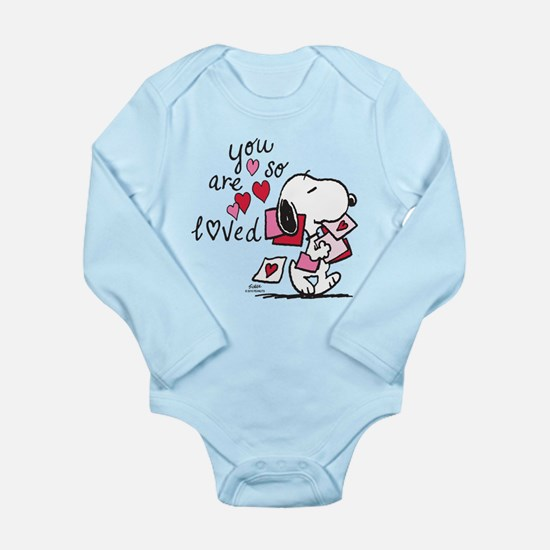 Snoopy - You Are So Lo Long Sleeve Infant Bodysuit