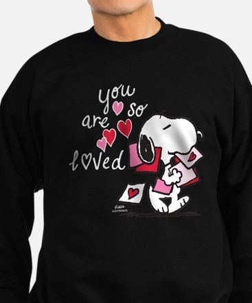 Snoopy - You Are So Loved Sweatshirt (dark)