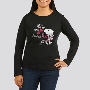 Snoopy - You Are Women's Long Sleeve Dark T-Shirt