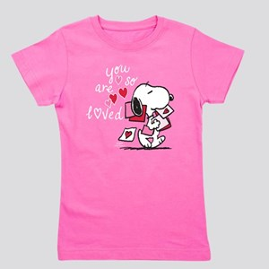 Snoopy - You Are So Loved Girl's Tee