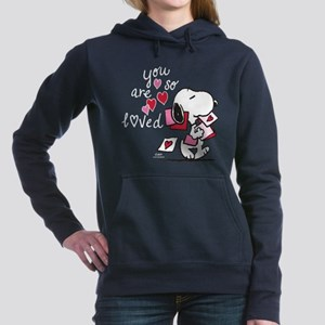Snoopy - You Are So Love Women's Hooded Sweatshirt
