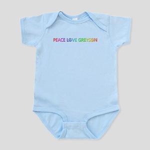 Peace Love Greyson Body Suit