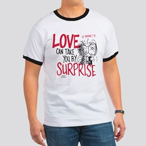 Peanuts - Surprise Love Ringer T