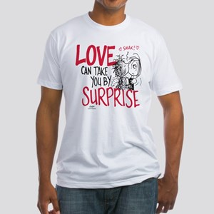 Peanuts - Surprise Love Fitted T-Shirt