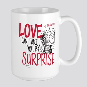 Peanuts - Surprise Love Large Mug