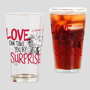 Peanuts - Surprise Love Drinking Glass