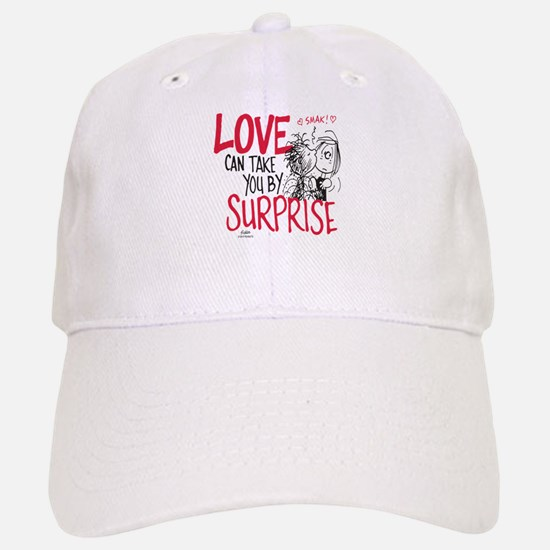 Peanuts - Surprise Love Baseball Baseball Cap