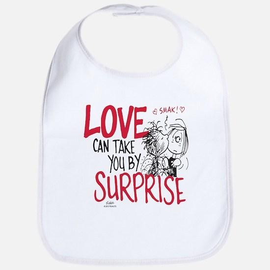 Peanuts - Surprise Love Bib