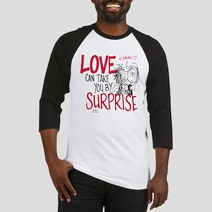 Peanuts - Surprise Love Baseball Jersey
