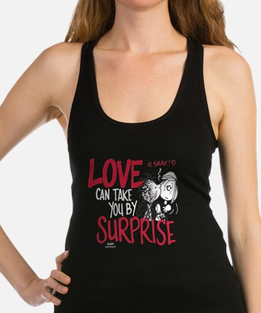 Peanuts - Surprise Love Racerback Tank Top