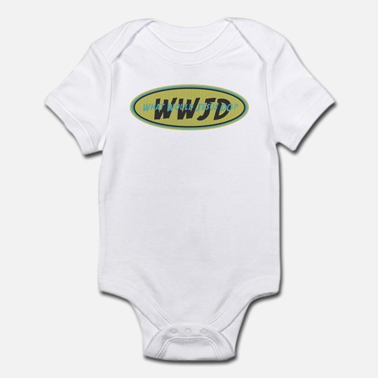 Retro WWJD Infant Bodysuit