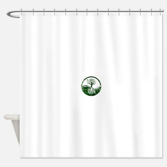 Cute Earth day Shower Curtain