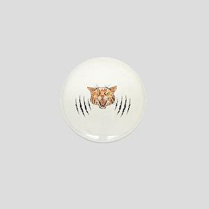 Wildcat Claw Marks Mini Button