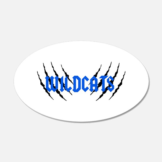 Wildcats Claw Marks Wall Decal