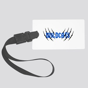 Wildcats Claw Marks Luggage Tag