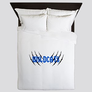 Wildcats Claw Marks Queen Duvet