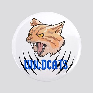 Wildcats Claw Tears Button