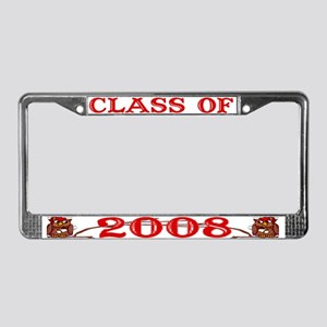 Class Of 2008 - License Plate Frame