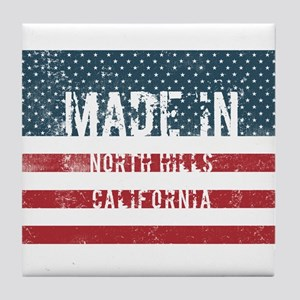 Made in North Hills, California Tile Coaster