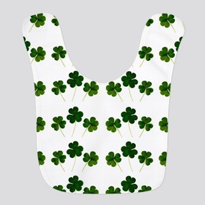 st patricks day shamrocks Bib