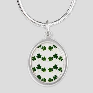 st patricks day shamrocks Necklaces