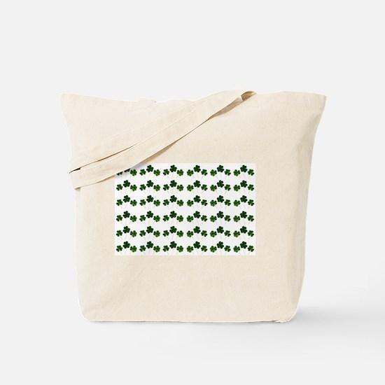 st patricks day shamrocks Tote Bag