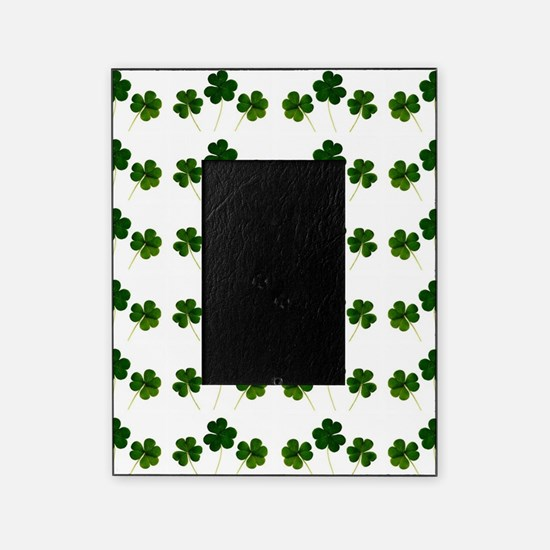 st patricks day shamrocks Picture Frame