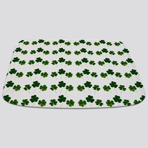 st patricks day shamrocks Bathmat