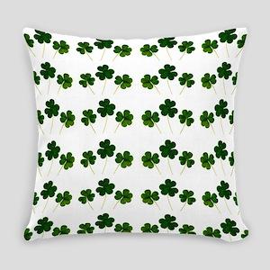st patricks day shamrocks Everyday Pillow