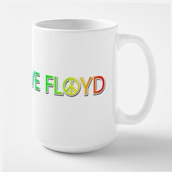 Peace Love Floyd Mugs