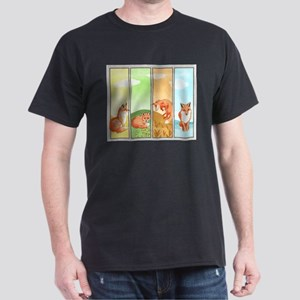 Season Of The Foxes Dark T-Shirt