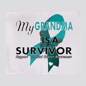 my grandma is a survivor- support cervical cancer