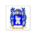 Mertin Square Sticker 3