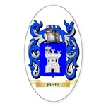 Mertel Sticker (Oval 50 pk)