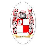 Mersh Sticker (Oval 50 pk)