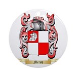 Mersh Round Ornament