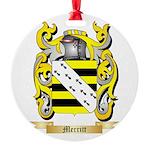 Merritt Round Ornament
