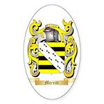 Merritt Sticker (Oval 50 pk)