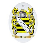 Merritt Oval Ornament