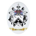 Merriman Oval Ornament